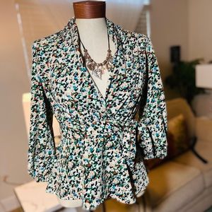 New York  and Company Wrap blouse